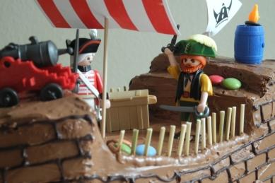 Piraten Und Wickinger Schiff Fur Schuleinfuhrung Kuchenkrumel