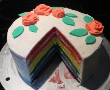 Rainbow Cake10