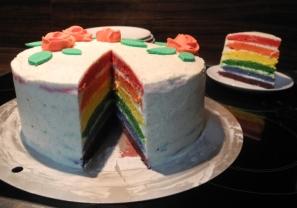 Rainbow Cake8