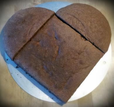 Schoko Biskuit - chocolate sponge
