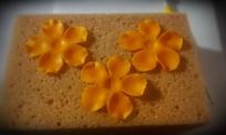 Blütenpaste mit dem Balltool geprägt