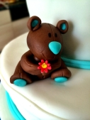 Teddy mit Blume - with flower