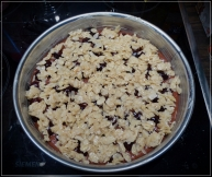 Schoko-Kirsch-Kuchen_Teig_Belag