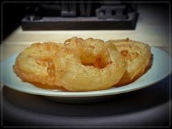 gebackene-Apfelringe